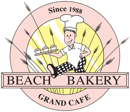 Beach Bakery & Grand Cafe – What a European bakery used to be Logo